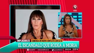 Moria Casán fue demandada por su ex Ferrer Vázquez