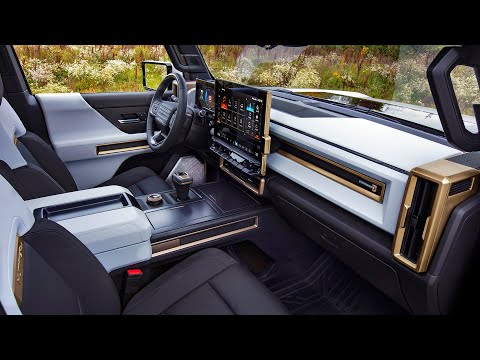 2022 GMC Hummer EV - Interior and Exterior Details
