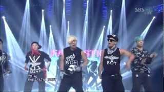 Video BIGBANG [FANTASTIC BABY] @SBS Inkigayo 인기가요 20120318 MP3, 3GP, MP4, WEBM, AVI, FLV Juli 2018