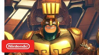 Get ready ARMS fans! Max Brass joins the fight via a free update on July 12th! ARMS is available now on Nintendo Switch!Available Now! http://arms.nintendo.com/#NintendoSwitch #ARMSSubscribe for more Nintendo fun! https://goo.gl/09xFdPVisit Nintendo.com for all the latest! http://www.nintendo.com/Like Nintendo on Facebook: http://www.facebook.com/NintendoFollow us on Twitter: http://twitter.com/NintendoAmericaFollow us on Instagram: http://instagram.com/NintendoFollow us on Pinterest: http://pinterest.com/NintendoFollow us on Google+: http://google.com/+Nintendo