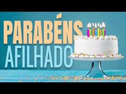 Msg de aniversário - Mensagem de Aniversário (Parabéns Afilhado!)
