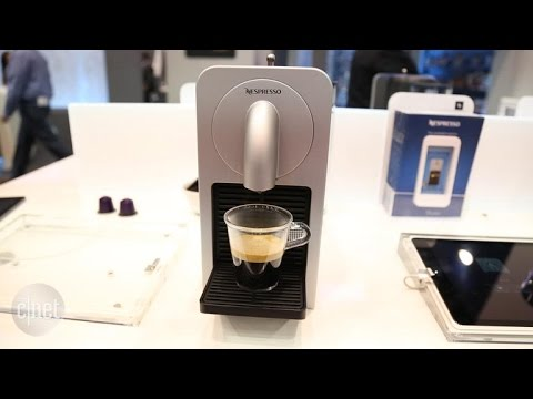 Prodigio machine brings app-connected smarts to Nespresso's pod coffee brewing line