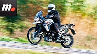 10. Triumph Tiger 800 XCx 2016   Prueba / Test / Review en español   motos.net