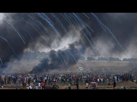 Χάος και αιματοχυσία στη Λωρίδα της Γάζας