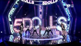 [Live 110512] 5Dolls - Like This or That