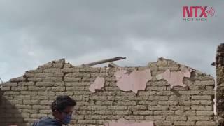 En Joquicingo pobladores y voluntarios retiran escombros
