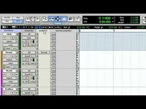 Pro Tools® 7.3 – Music Creation (Part 3)