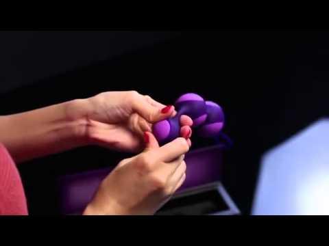 KEY by Jopen Stella III Graduated Kegel Ball Set Dallas Novelty