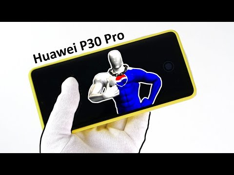 Unboxing Huawei P30 Pro