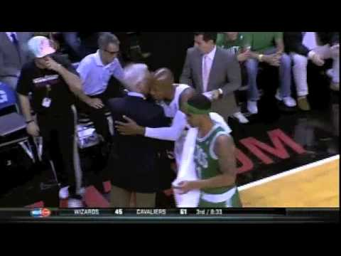 Ray Allen On the Heat Kevin Garnett Ignores Him