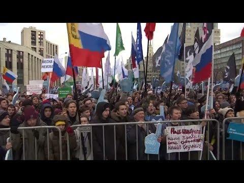 Russland: Wutbürger müssen sich jetzt in Acht nehmen