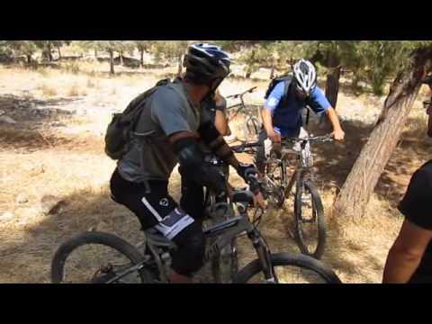 تدريب دراجات جبلية ..