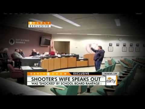 Fla. School Board Shooter's Wife Speaks Out
