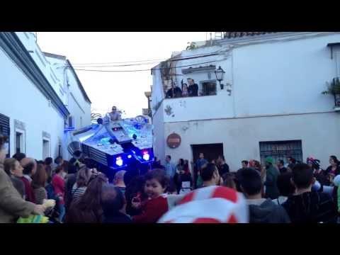 Star Wars Carnival Procession