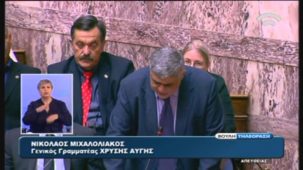 """Ομιλία Γ.Γ. Χ.Α., Ν. Μιχαλολιάκου, στο σχ.ν. """"Επείγοντα μέτρα Εφαρμογής του ν.4334"""" (22/07/2015)"""