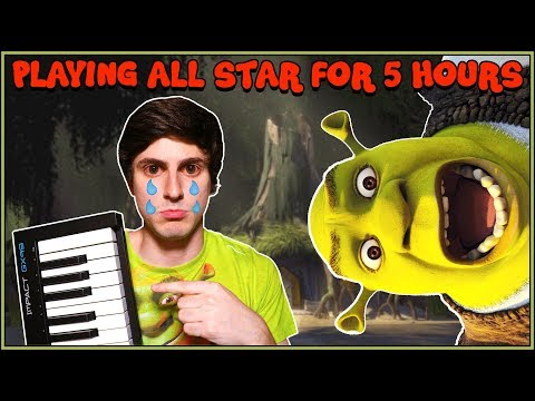 Video Idiot Plays All Star on Piano for 5 Hours Straight download in MP3, 3GP, MP4, WEBM, AVI, FLV January 2017