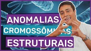 ★ Estude no BIOLOGIA TOTAL: http://www.biologiatotal.com.br★ INSTAGRAM: http://instagram.com/paulojubilut/★ FACEBOOK: http://www.facebook.com/biologiajubilut★ TWITTER: http://twitter.com/Prof_JubilutNesta aula o Prof. Jubilut explica as principais anomalias cromossômicas estruturais: deleção, translocação, inversão e duplicação.