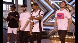 Video Simon Stops Them, Then Their Original Track Blows Everyone Away! | Audition 1 | The X Factor UK 2017 MP3, 3GP, MP4, WEBM, AVI, FLV April 2018