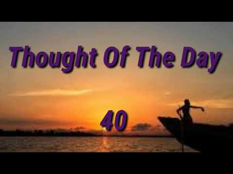 Quote of the day - Thought Of The Day -40/ Thoughts or Quotes of Great  Person's....