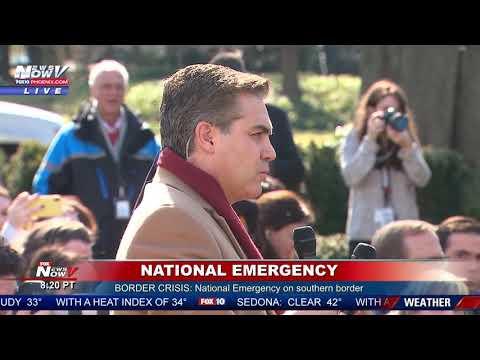 """YOU'RE FAKE NEWS"" President Trump SLAMS CNN's Jim Acosta Over Border Statistics"