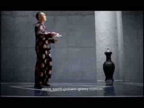 funny glass commercial HA!