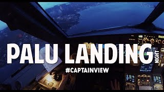 Video ( CAPTAIN VIEW ) Airbus A320 Palu Night Landing - by Vincent Raditya ( BATIK AIR ) MP3, 3GP, MP4, WEBM, AVI, FLV Januari 2019