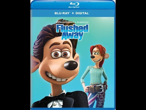 Flushed Away (2006) Blu-ray Unboxing