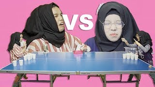 Video Gregetan Banget!!! Abqariyyah VS Fatimah Halilintar Jamu Pong Challenge MP3, 3GP, MP4, WEBM, AVI, FLV April 2019
