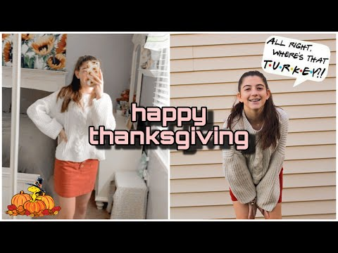 SPEND THANKSGiViNG WiTH ME! thanksgiving vlog🦃🍁