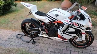 4. Présentation KTM 1190 RC8 2009
