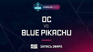 DC vs Blue Pikachu, ESL One Hamburg 2017, game 1 [Lum1Sit]