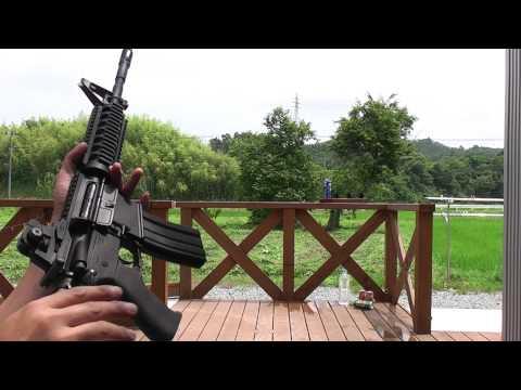 M4SOPMOD - This is Japanese airsoft-gun. WA M4とマルイM4 SOPMODの動作比較です。WA M4GBBはDELTAベースで内部はノーマルです。マルイM4 SOPMODはモーターをG&P...