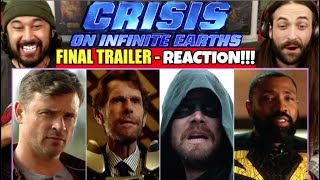 DCTV Crisis on Infinite Earths CROSSOVER - FINAL TRAILER | REACTION!!! by The Reel Rejects