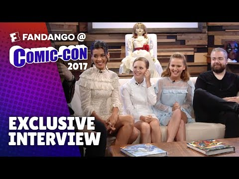 Would You Rather with Cast of 'Annabelle: Creation'   Comic-Con 2017