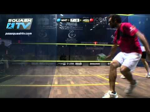 Squash : Nick Matthew v Ramy Ashour : PSA El Gouna Squash 2012