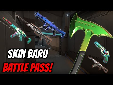 SKIN & REWARDS BATTLE PASS ACT 2 EPISODE 2 | Valorant Indonesia