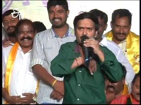 Etv - Comedian VenuMadhav's Attractive Speech In TDP Campaign.