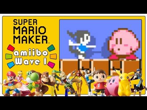 super mario maker walkthrough all super mario series amiibo