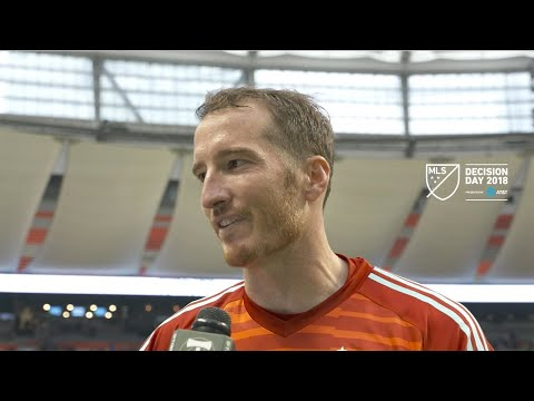 Video: Jeff Attinella | Whitecaps 2, Timbers 1 | Postgame | Oct. 28, 2018