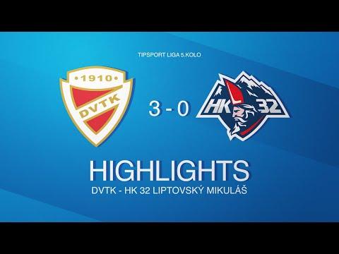 5. forduló: DVTK Jegesmedvék - Mhk32 Liptovsky Mikulas 3-0