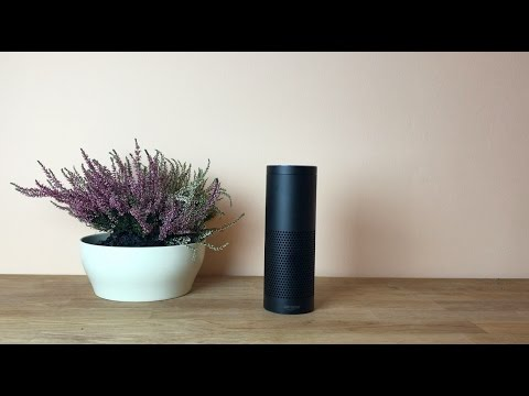 Amazon Echo mit Alexa ausprobiert (DEUTSCH)