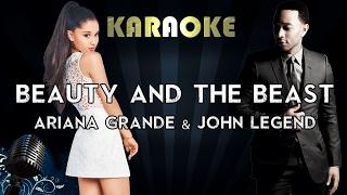 Video Ariana Grande, John Legend  - Beauty and the Beast (Karaoke/Instrumental/Lyrics) MP3, 3GP, MP4, WEBM, AVI, FLV Desember 2017