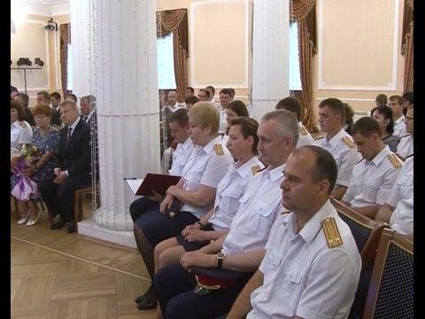 В Новгородской областной филармонии состоялось торжественное собрание, посвященное Дню сотрудника органов следствия Российской Федерации