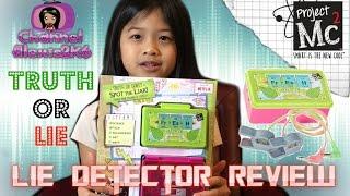 Video Project Mc² | Lie Detector Toy Review!! | TRUTH OR LIE!! | (S02E01) MP3, 3GP, MP4, WEBM, AVI, FLV Juli 2018