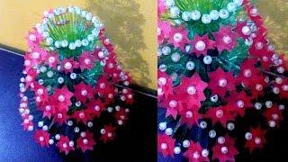 Khmer Travel - DIY: Flower Vase from plastic bottle