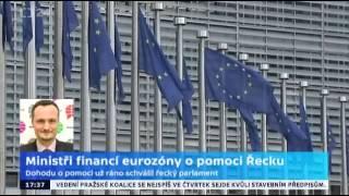 Ministři financí eurozóny o pomoci Řecku