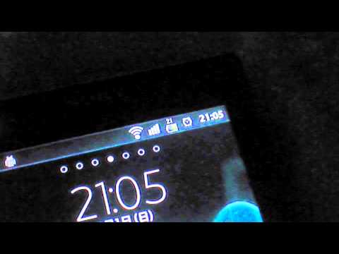 how to remove battery percentage from xperia p