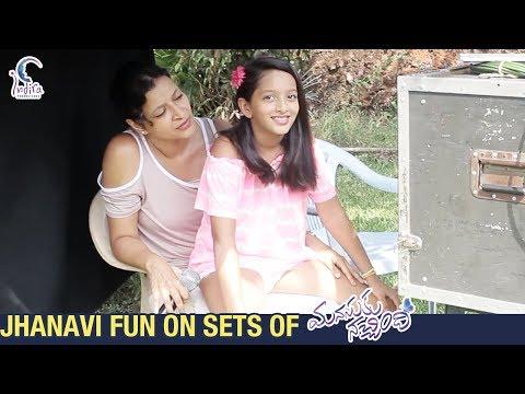Video songs - Jhanavi FUN ON SETS of Manasuku Nachindi  Sundeep Kishan  Amyra Dastur  Manjula  Radhan