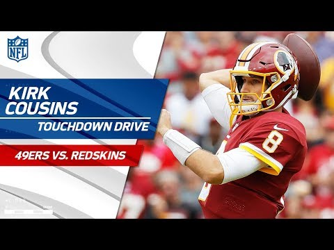 Video: Kirk Cousins Leads Efficient Opening TD Drive! | 49ers vs. Redskins | NFL Wk 6