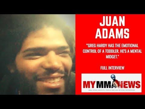 Juan Adams: 'Greg Hardy has the emotional control of a toddler, he's a mental midget'